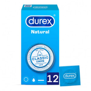 363192 - DUREX PRESERVATIVOS NATURAL PLUS EASY ON 12 U